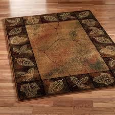 floor rustic rugs nature themed rugs elk rugs
