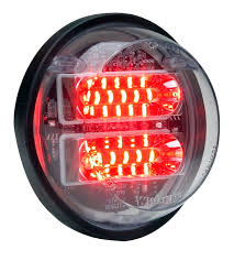 4 inch round led tail lights 4 round whelen engineering automotive