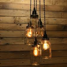 Jar Pendant Light Jar Pendant Light Ls Lighting Fixtures Bar Rustic