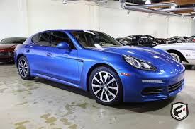porsche panamera blue 2015 porsche panamera fusion luxury motors