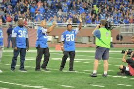 lions game thanksgiving 2014 barry sanders news detroit lions football nfl running back