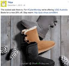 ugg sale thanksgiving tilly s cyber monday 2017 sale blacker friday