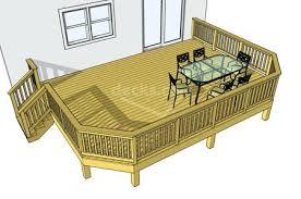 deck ideas backyard deck designs plans photo of fine patio design