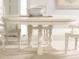 Astonishing Pedestal Farmhouse Table Dining White Pedestal Kitchen Table With Leaf U2022 Kitchen Tables