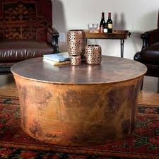 Copper Side Table Round Copper Coffee Table Fancy Glass Coffee Table On Noguchi