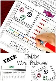 Multiplication And Division Word Problems Worksheets 4th Grade Five Ways To Solve Division Word Problems With Free Worksheets
