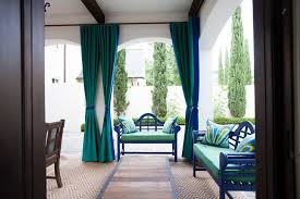 Royal Blue Blackout Curtains Turquoise Blackout Curtains Reference For Mediterranean Patio With