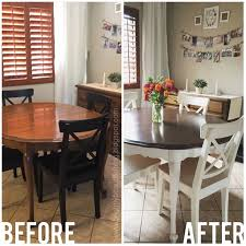 kitchen table idea impressive refinishing dining table with 25 best ideas about