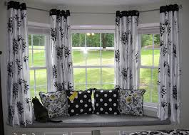 interior exquisite picture of window treatment decoration using