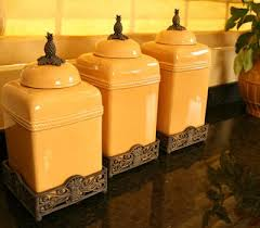 yellow kitchen canisters 23 best canisters images on kitchen canisters fleur