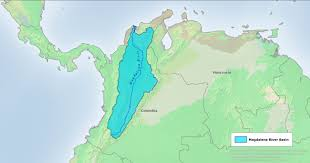 South America Rivers Map by The Magdalena And The U201cmaster Plan U201d Los Angeles Review Of Books