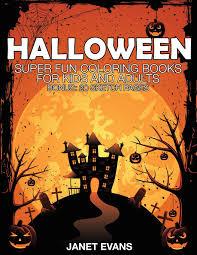 halloween super fun coloring books kids adults bonus 20