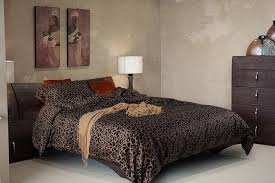 Leopard Bed Set Luxury Black Leopard Print Bedding Sets Cotton Sheets