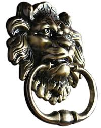 unidecor antique lion door knocker lion head amazon com