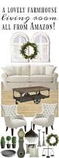 farmhouse living room all from amazon liz marie blog