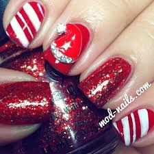 186 best nail art christmas images on pinterest christmas nails