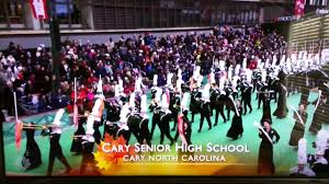 cary high school marching band at 90th macy s thanksgiving parade