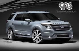 Ford Explorer Models - ford models teased ahead of sema show