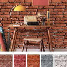 wallpaper design batu bata cheap imitation vinyl bricks stone design wall paper wholesale