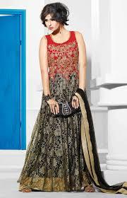 black u0026 red indian designer gown buy affordable long evening