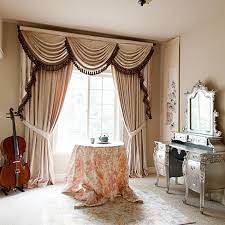 Double Swag Shower Curtain With Valance Swag Valance Curtains Swag Curtains For Bedroom Valance Curtains