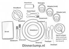 how to set a formal table formal table place setting chart formal etiquette and formal dinner