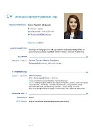 Headshot And Resume Sample by New Cv