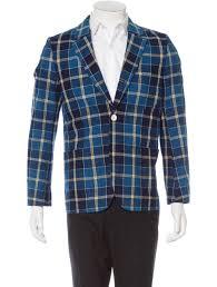 tartan vs plaid visvim plaid notch lapel blazer clothing vsm20101 the realreal
