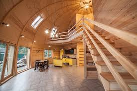 dome home interiors company builds futuristic dome homes to withstand