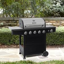 bbq pro 5 burner gas grill with side burner with stainless steel