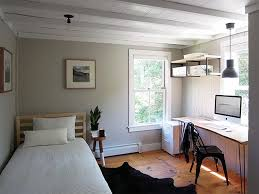 bedroom office an antique connecticut farmhouse made modern brown color schemes
