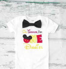 mickey mouse 1st birthday shirt baby birthday oh toodles i m one themed cake smash