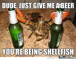 Selfish Meme - selfish shellfish by colmulhall meme center