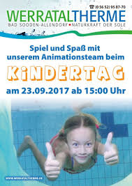Therme Bad Sooden Allendorf Kinderfest Am 23 September Werrataltherme Bad Sooden Allendorf