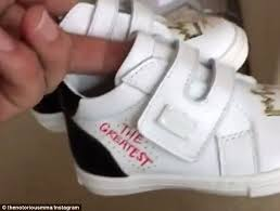 matching shoes for him and conor mcgregor shows custom d g baby and shoes daily