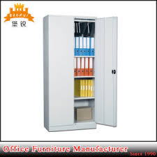 china powder coated 2 door used metal cabinets office steel