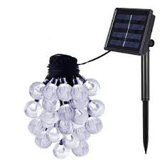 solar led light for globes outdoor solar lights for trees wayfair
