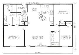 3 bedroom 2 bath floor plans 2 bed 2 bath floor plans fresh 4 corner rectangle house plan 3