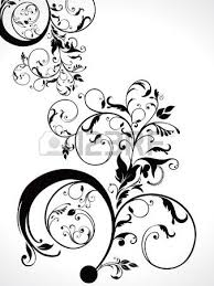 abstract floral ornament vector illustration royalty free cliparts