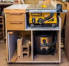 dewalt table saw folding stand mobile tablesaw stand for dewalt dw745 part 2 of 2 workshop re