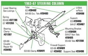 c2 corvette parts corvette parts c2 1963 1967 steering column