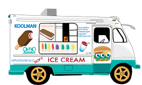 ice cream clipart ice cream van clipart black and white clipartxtras