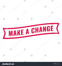 chagne ribbon make change ribbon icon flat vector stock vector 550103365