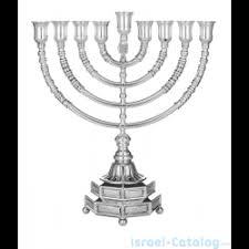 buy a menorah buy sterling silver hanukkah menorah menorat ha atzmaut by hadad