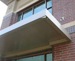 Material For Awnings Commercial Metal Awnings U0026 Canopies Canopy Replacement Outdoor