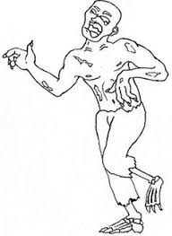 zombie coloring pages kids zombies