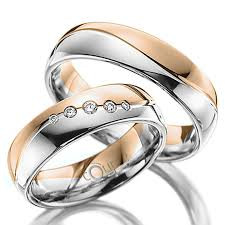 snubni prsteny mahogany snubní prsteny v kombinaci bílé a růžové zlato