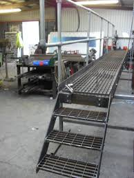 Galvanised Handrail Commercial Metal Workshop Uk