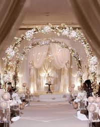 Wedding Arches Inside Royal David Tutera Wedding Archway Fabric And Floral Mandap