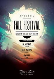 flyers design fall festival flyer by stylewish buy psd file 9 design